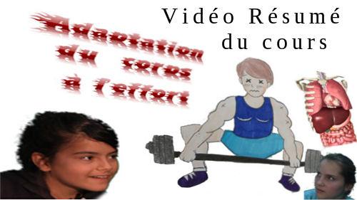 Vidéo Résumé de cours : Adaptation du corps à l'effort